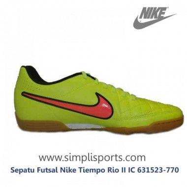 Sepatu Futsal Nike Tiempo Rio II IC 631523-770 ORI