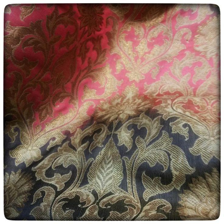 Splendid Shaded Khemkhab Brocade at Fab Couture https://fabcouture.in/shaded-khemkhab-496.html