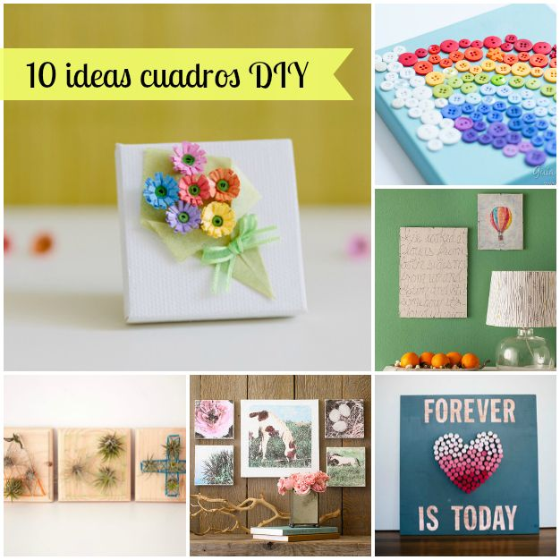 17 best images about manualidades on pinterest crafts - Manualidades con cuadros ...