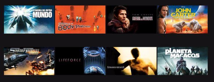 Filmes de ficção científica alienígenas baseados em livros