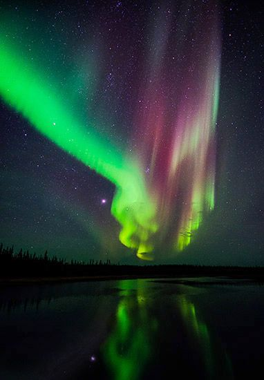 Aurora Borealis/Northern Lights - Canada.