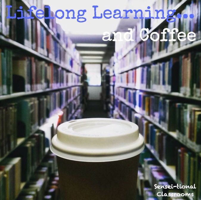 """Teachers as lifelong learners and lovers of coffee. My view at the University of Newcastle's Huxley Library this afternoon whilst conducting scholarly research """"the old-fashion way"""". #teacherlife #PhDlife #scholarlyresearch #engaginglearning #lifelonglearner #lifelonglearning"""