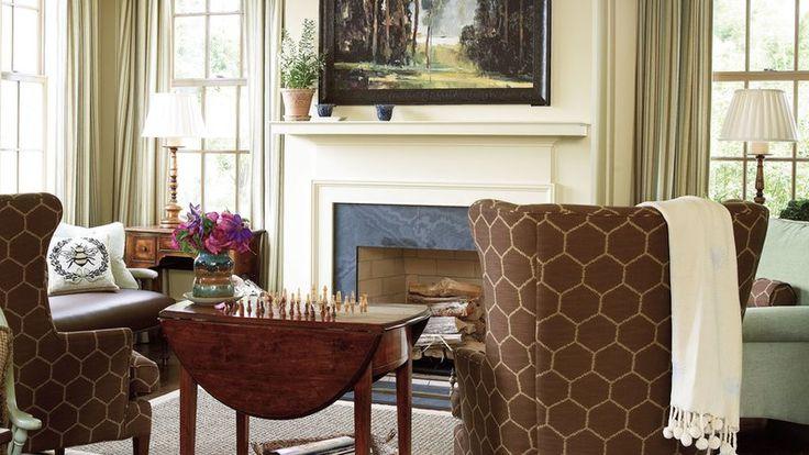 Keeping Room Fireplace
