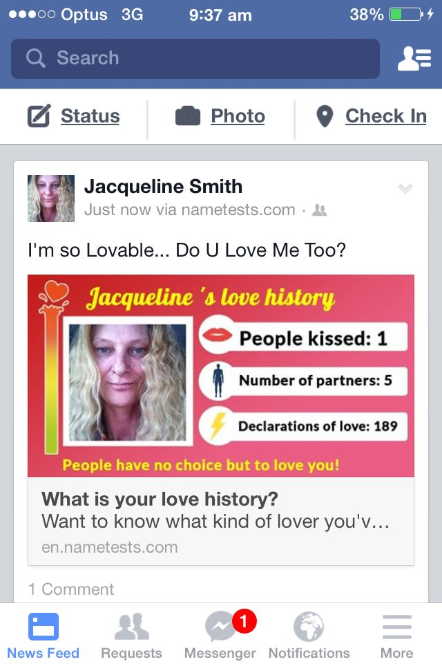 DO U LOVE ME?...