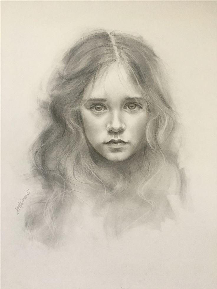 Quick Sketch no. 4 Graphite Pencil Portrait Drawing | Janet Maines | www.janetmaines.com Discover The Secrets Of Drawing Realistic Pencil Portraits... http://pencil-portrait-mastery-today.blogspot.com?prod=aJbkhdJG