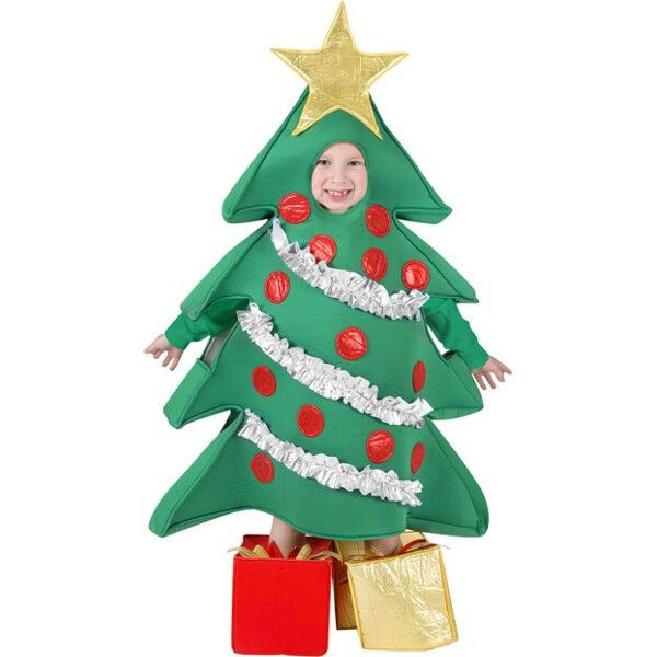 Child Christmas Tree Costume Christmas Costumes
