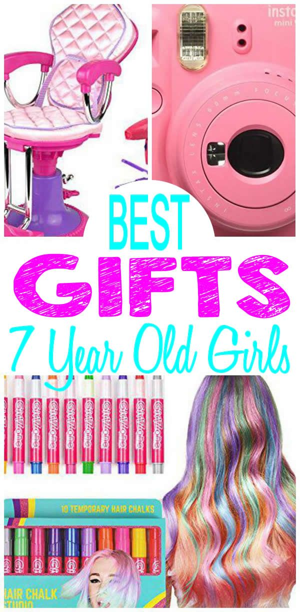 TOP Gifts 7 Year Old Girls Will Love Find Trendy And Popular Seven Want Check Out These Christmas Or 7th Birthday