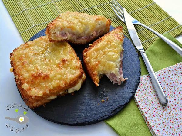 ¿Sabes cómo se hace el sándwich francés conocido como Croque-Monsieur? Aquí, la receta