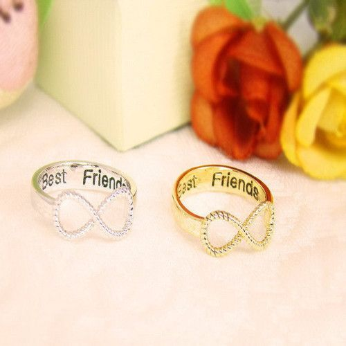 Best Friends Rings (2 pieces)