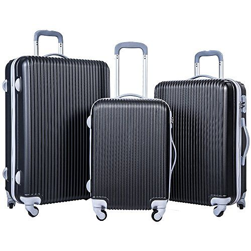 Merax Newest 3-piece Luggage Spinner Suitcase Set ABS Material - http://affordable-handbags.mugambogroup.com/merax-newest-3-piece-luggage-spinner-suitcase-set-abs-material/