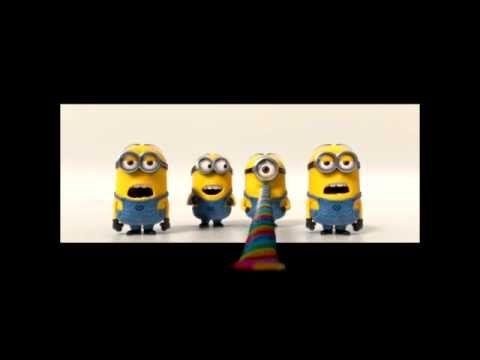Miniones singing song HAPPY BIRTHDAY