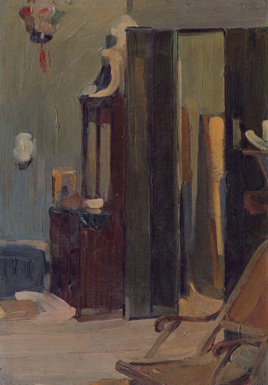 Lytras Nikolaos [1883-1927] - House interior