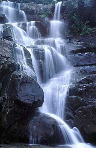 Ramsey Cascades, Grest Smoky Mountains National Park, Tennessee