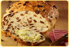 Recept voor Krentenbrood van oliebollenmix