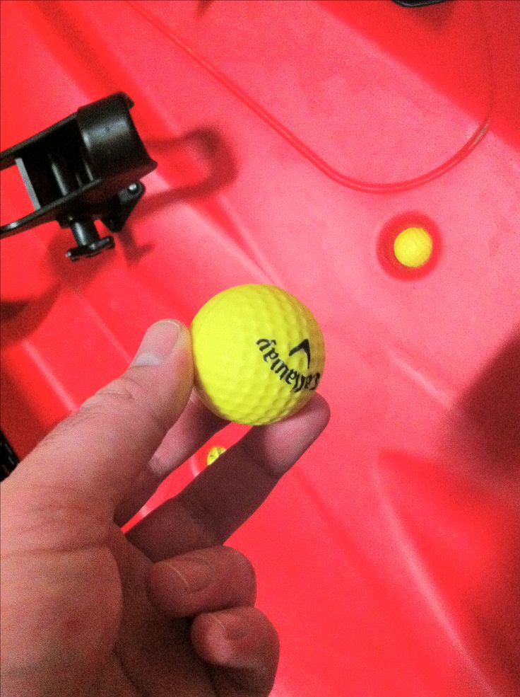 Scupper plug problem? Use foam golf balls in the holes for