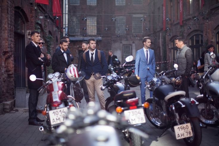 The 2016 Distinguished Gentlemans Ride : From Russia With Love - St Petersburg, Russia