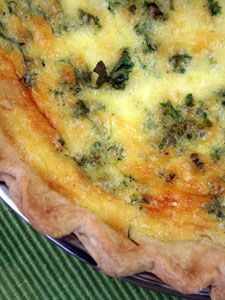 Seafood Quiche - delicious and easy to make.  I used lump crab and shrimp.  I also added some scallions to mine. I used a prepared crust from the grocery store.  Very tasty, and would make again.
