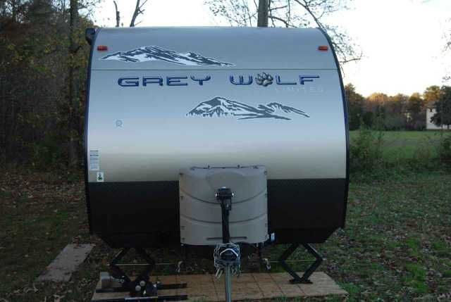 "2014 Used Forest River Cherokee Grey Wolf 34' 1-SLIDE Toy Hauler in Virginia VA.Recreational Vehicle, rv, 2014 Forest River Cherokee Grey Wolf 34' 1-SLIDE, Additional items added by owner are as follows: The most expensive of all additions is the towing stabilizer. It is the heaviest duty one you can purchase that I know of and cost us $600.00. It retails for $922.00. We are leaving the brand new 32"" LCD TV. Excellent picture! I am including the locking system on the tongue when not being…"