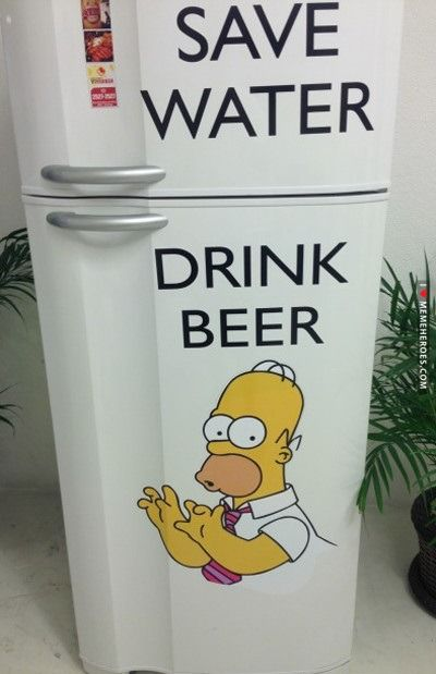 Save Water Drink Beer Shit