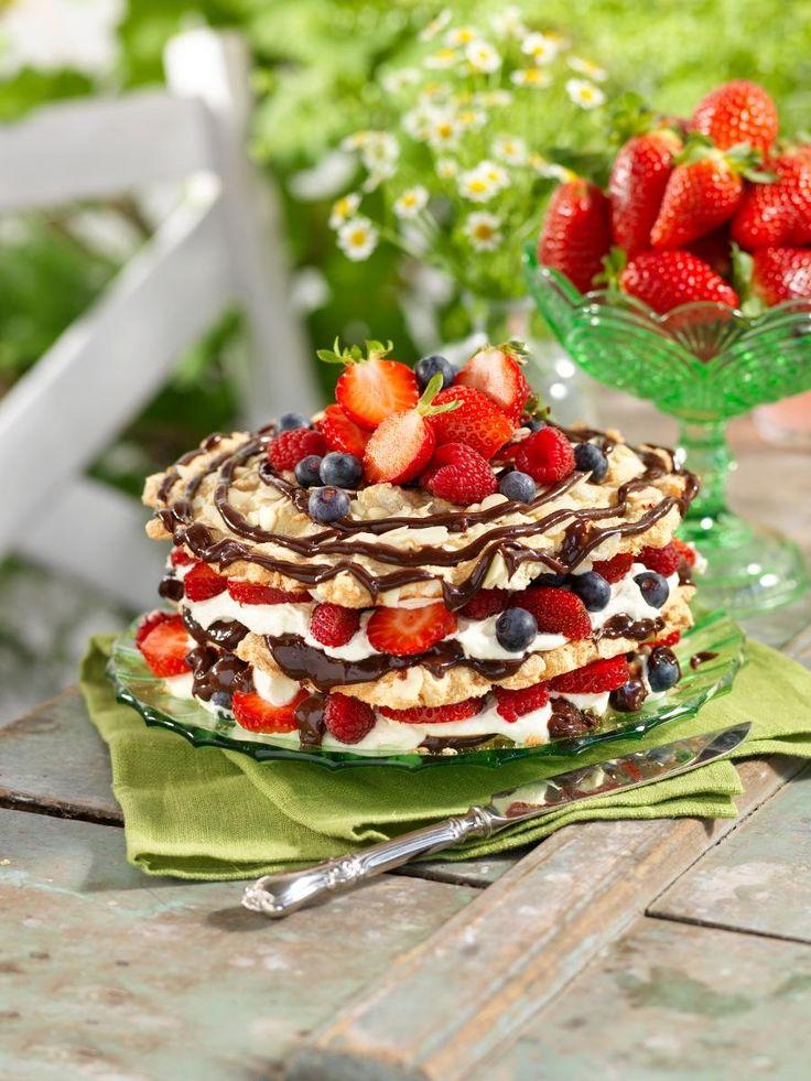 Lyxig och lättlagad tårta till mor