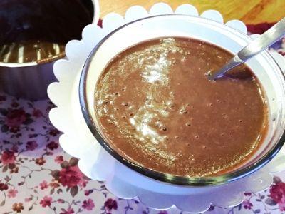 Čokoládový puding zo svetlej pohánky a kakaových bôbov