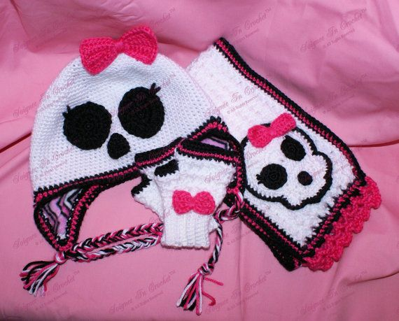Hey, I found this really awesome Etsy listing at http://www.etsy.com/listing/165654680/crocheted-hat-pattern-skullish-nightmare