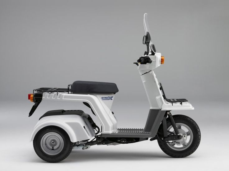 Honda S Gyro 50 Three Wheeled Delivery Scooter I Like This