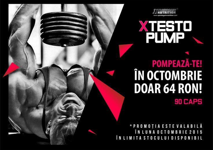 PROMOȚIE X Testo Pump  http://suplimente-culturism.ro/promotie-x-testo-pump.html