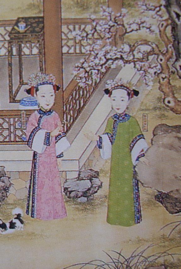 Qing_Dynasty_Princesses_Rongengulun_and_Rongangulun_of_China.JPG (575×855)