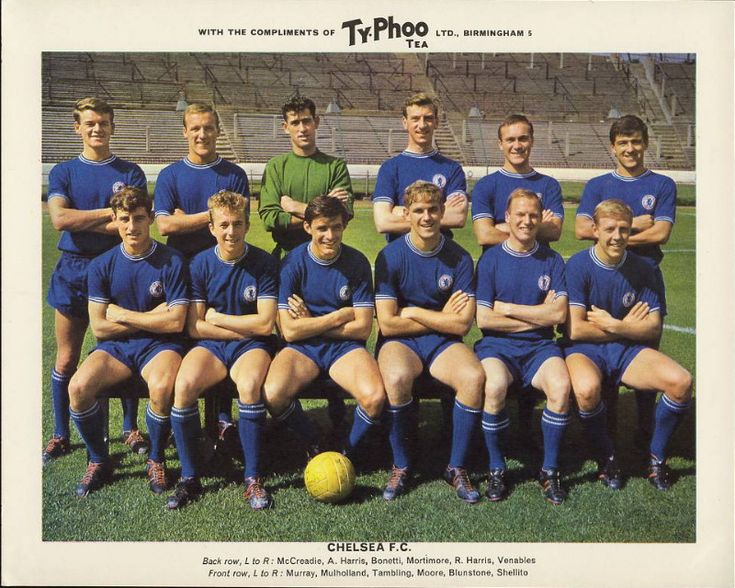 Nigel's Webspace - Ty-Phoo Tea, 1963/64 Famous Football Clubs, premium issues