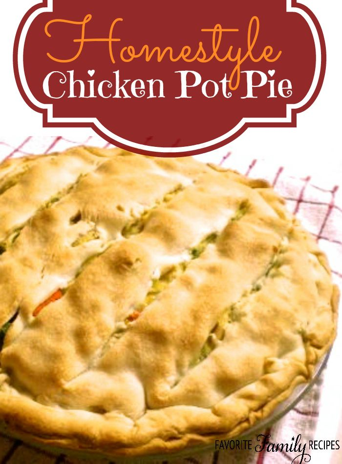 This is my favorite chicken pot pie. It is STUFFED with chicken and veggies, the flavor is incredible!
