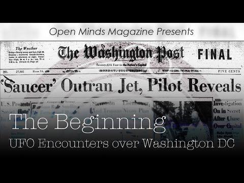UFO Encounters Over Washington DC   Latest UFO sightings