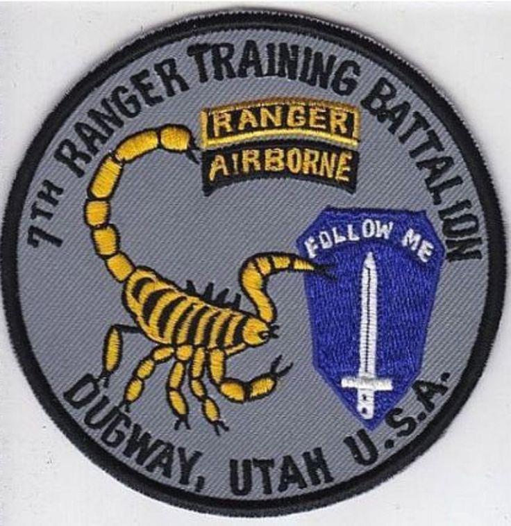 Ranger US Army 7th Ranger Battalion Airborne Training Battalion Based Dugway, Ut