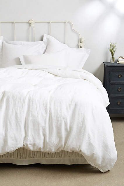 Soft-Washed Linen Duvet - anthropologie.com