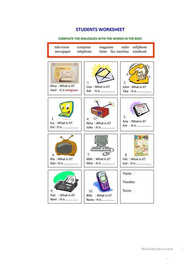 Means Of Communication Worksheet Worksheet Free Esl Printable Worksheets Made By Teachers Learning Worksheets Worksheets For Kids Means Of Communication Social studies kindergarten worksheets