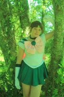 Sailor Jupiter cosplay by tegzbat