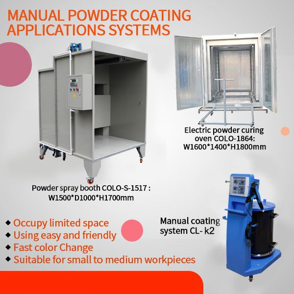 Colopowder Coating Equipment Available Including Powder Ovens