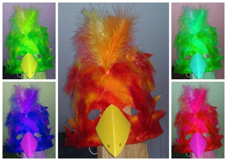 121_Masques_Oiseau de feu (montage)