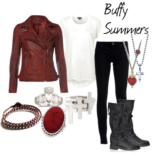 Buffy Summers, created by dingoesatemybaby on Polyvore
