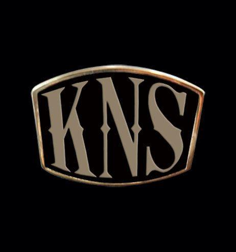 Bronze KNS 3 Letter Ring from Jax Biker Jewellery by DaWanda.com