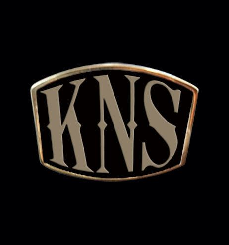 Bronze KNS 3 Letter Ring from Jax Biker Jewellery by DaWanda.com