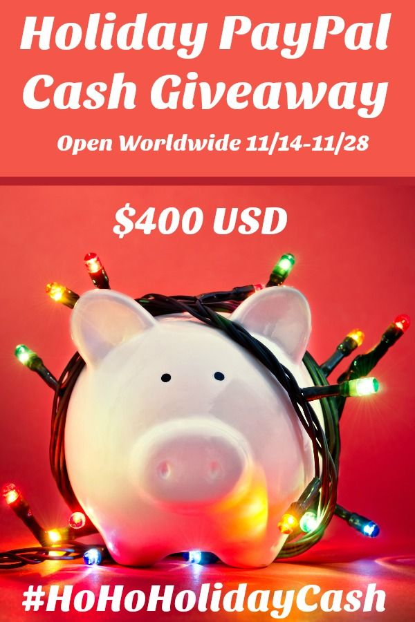 enter to win $400 paypal cash http://ninjamommers.com/ho-ho-holiday-paypal-cash-giveaway/