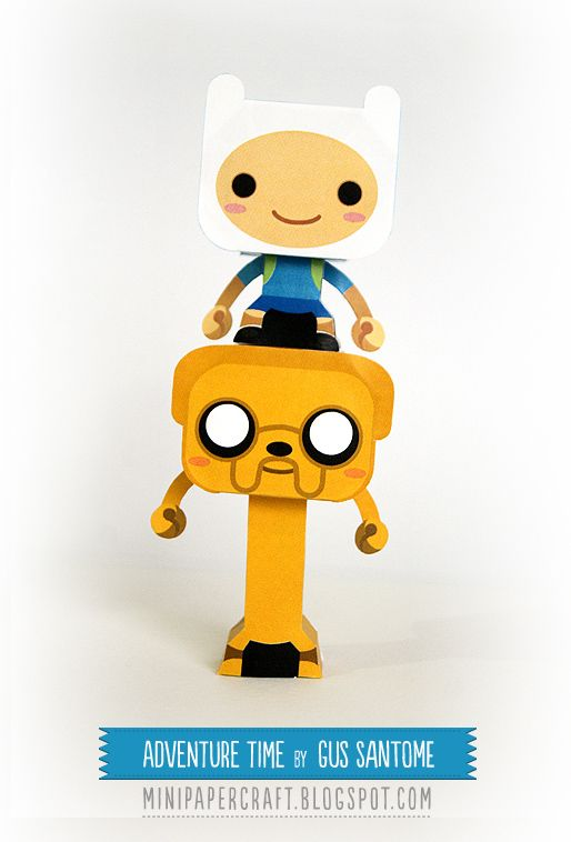 Mini Papercraft: Adventure Time