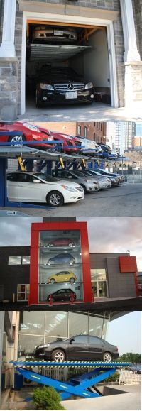 Commercial Car Stacker