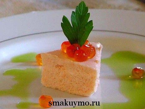 Французский мусс из лосося
