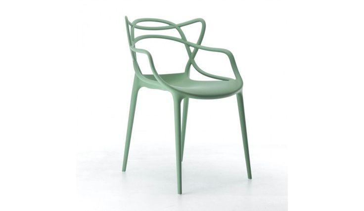 Kartell masters chaise vert cuisine pinterest - Chaises kartell masters ...