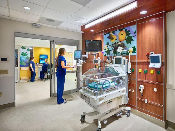 Hga healthcare snapshots hospital interior design