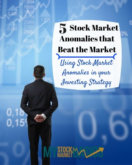 Ever wonder if you can beat the stock market? Here's five stock market trends that happen constantly. Market anomalies from the January Effect to low P/B and the reversal anomaly. Learn how to build them into your investing strategy.