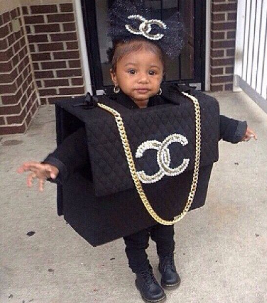 Chanel Bag Baby Clothes Costumes Party Decorations