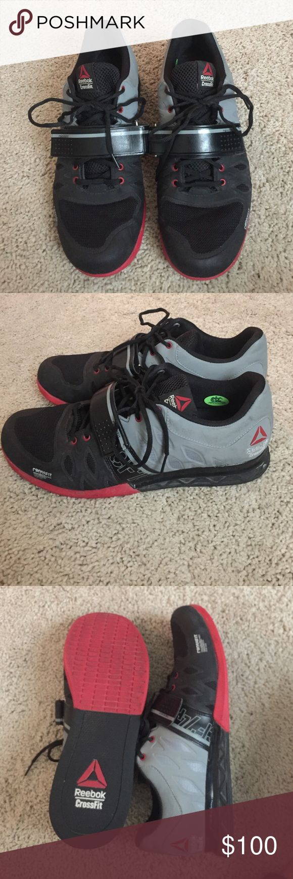 Men's CrossFit Shoes Reebok Men's CrossFit Lifter 2.0 Training Shoes. Worn a few times and still in really good condition. Reebok Shoes Sneakers